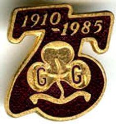 1985 Jubilee Metal Badge