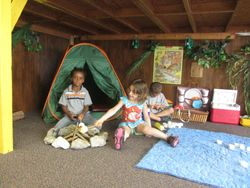 Pretend play - Camping!