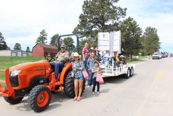 PIC float at Stampede Parade 2015