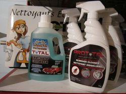 Nettoyants pour la voiture