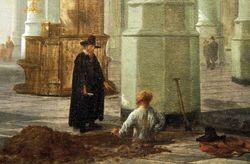 Vliet, St. Pieterskerck in Leiden, 1653, Ringling Museum