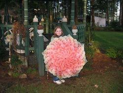 Nicole with Dahlia umbrella