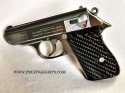 WALTHER PPK smooth blk CF mounted