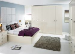 COLONIAL IMAGE GLOSS OYSTER (PALE CREAM) BEDROOM