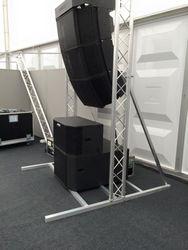 Custom made speaker tower hardware