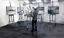 In The Artists' Studio