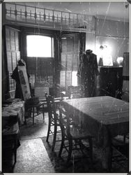 The seance room