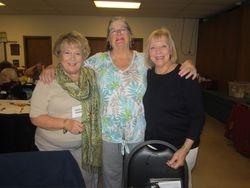 Celia Hansen, Pam Libuda, Eloise Post