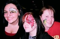 swirls, spidergirl and turtle