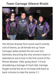Team Carnage Silence Rivals