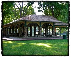 Pavilion on Island Park