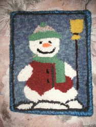 6 hour Beginner Snowman Mat