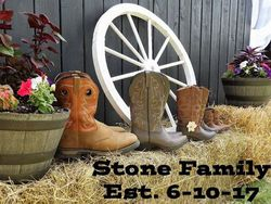 Stone family boots