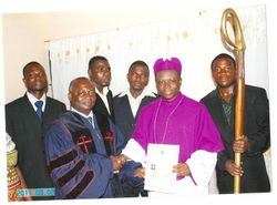 Bishop Eric Ofori Atta From Ghana(Western Africa) Is appointed As Country Director Of AUGP In Ghana
