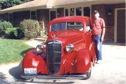 Bob Short's 1936 Chevy Master 2dr sedan