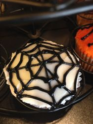 Spiderweb Cupcake