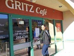 Demetria McKinney At Gritz Cafe on December 31, 2012