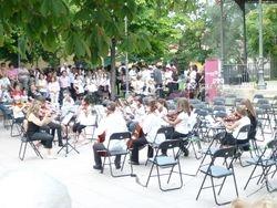 Orquesta de Elemental en concierto