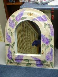 lilac mirror