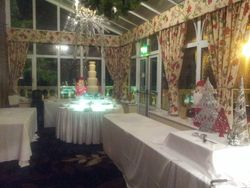 Chocolate Fountain Hire Ringwood Hall Hotel Chesterfield Derbyshire.