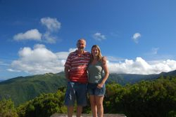 Us high up in the mountains