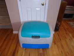 Fisher Price Toybox with Small Drawer - $40