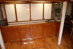 NEW CABINETRY IN GALLEY