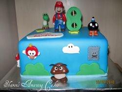 CAKE 32A2- Mario Cake