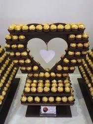 160 Ferrero Rocher Heart Stand Hire
