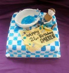 Plumber birthday cake