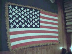 American Flag Afghan - View 4