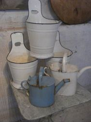 #15/006 Enamel Buckets SOLD