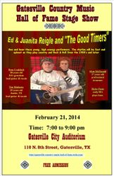 Ed & Juanita Reigle and The Good Timers