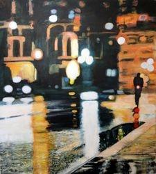 """""""Paris in the Rain (SOLD)"""""""