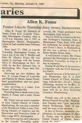 Fouse, Allen K. 1997