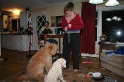 Sid training kipper and bently