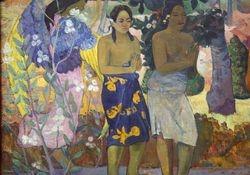 Gauguin, Hail Mary (Annunciation), 1891, Met, detail