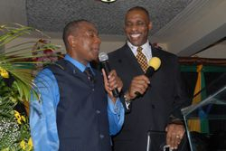 Bishop Cooper & Pastor A. Blackwood