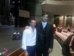 Branden with Tony Dovolani