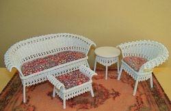 Wicker furniture class samples