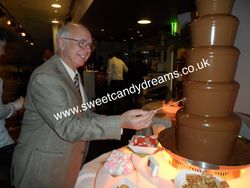 Celebrity Steven Hall, Britains Got Talent Chocolate Fountain Hire