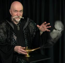 Dark Wizard summons the Genii