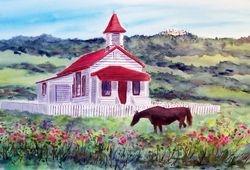 San Simeon School House