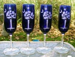Palmetto Blue Flutes