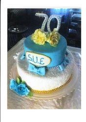 70th Birthday Cake(SP030)