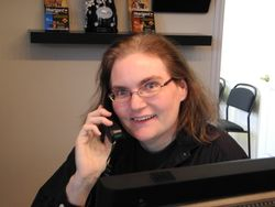 Kerry, our receptionist