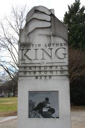 Martin Luther King Memorial, Atlanta GA