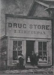Old corner Drug Store