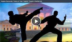 Virginia Democrats: Felony to Train ?Hateful? People in Martial Arts