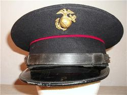 Old Dress Blue Cap (Used on Ship Duty)